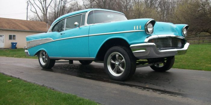 Ron Hall's 1957 Custom Bel Air