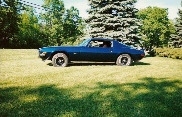 Mike Englands 1973 Camaro Z-28