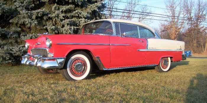 SOLD: 1955 Bel Air Hardtop Original