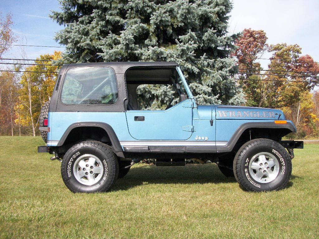 sold 1987 jeep wrangler lifted ross customs. Black Bedroom Furniture Sets. Home Design Ideas