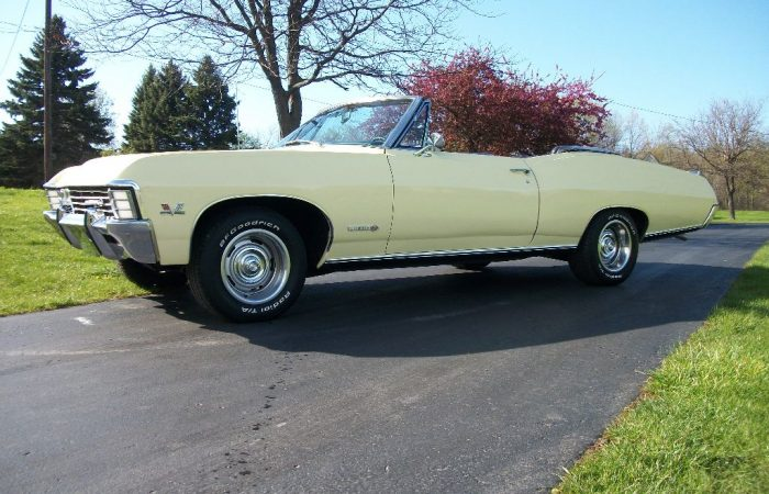 SOLD: 1967 Chevrolet Impala SS Convertible 396