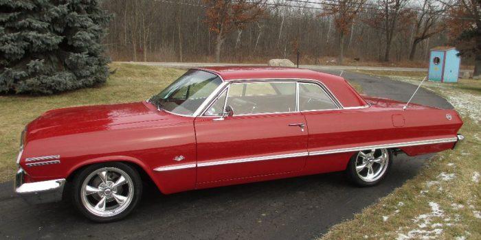 SOLD: 1963 Impala SS Resto Mod