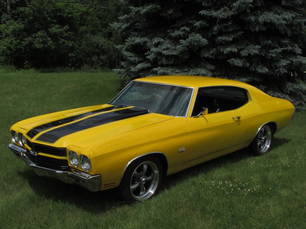 All Chevy 1970 chevrolet chevelle ss 454 : SOLD : 1970 Chevelle SS 454 Â« Ross Customs