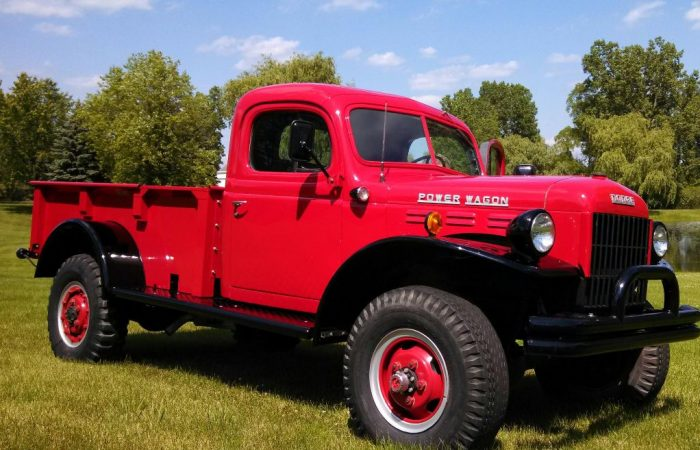 Ron Hall's 1949 DODGE Power Wagon