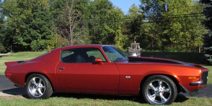 SOLD - 1971 Chevrolet Camaro SS350