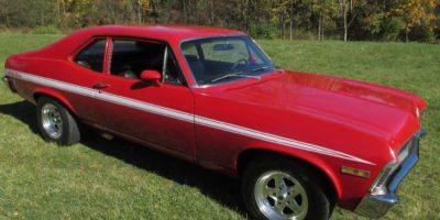 "FOR SALE - 1972 Chevrolet Nova ""RALLY NOVA"" 4 Speed Numbers Matching -$18,900"