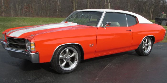 SOLD - 1971 Chevrolet Chevelle SS 454 - $27,500
