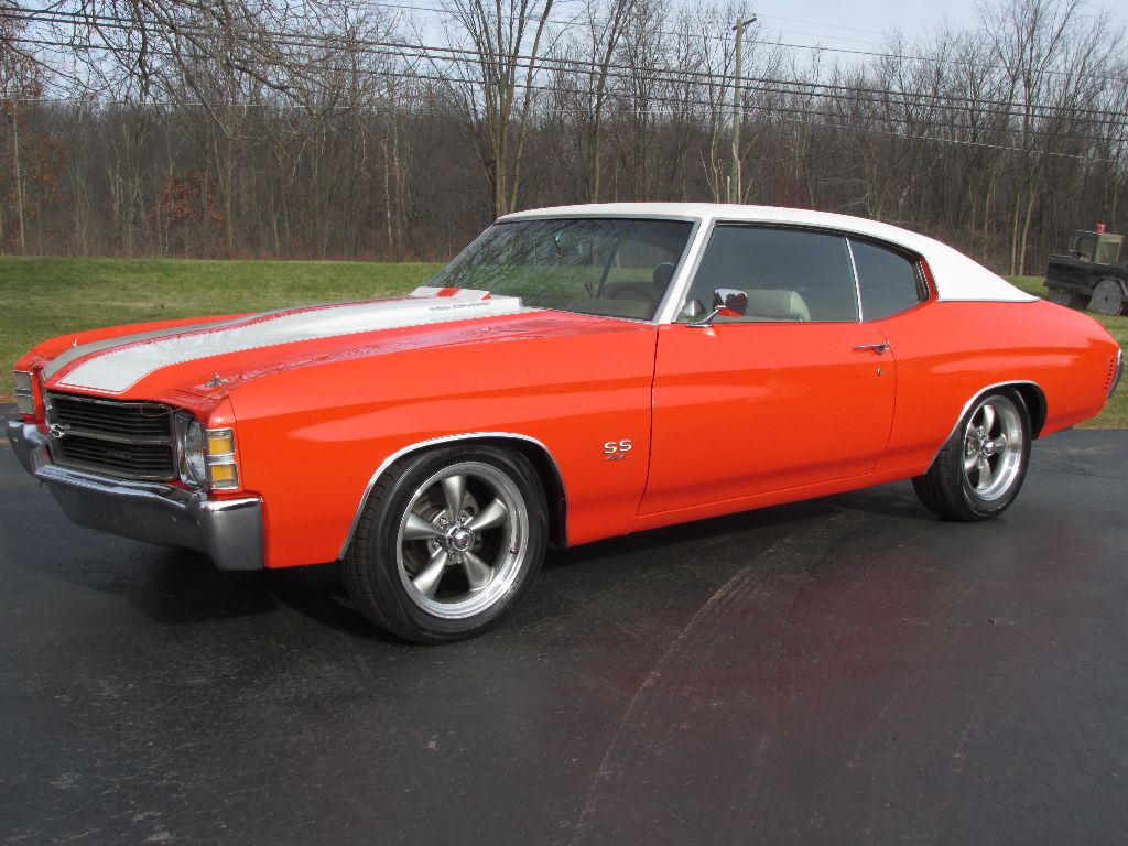 sold 1971 chevrolet chevelle ss 454 27 500 ross customs. Black Bedroom Furniture Sets. Home Design Ideas
