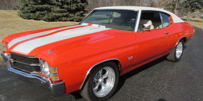 Sale Pending - 1971 Chevrolet Chevelle SS 454 - $28,500
