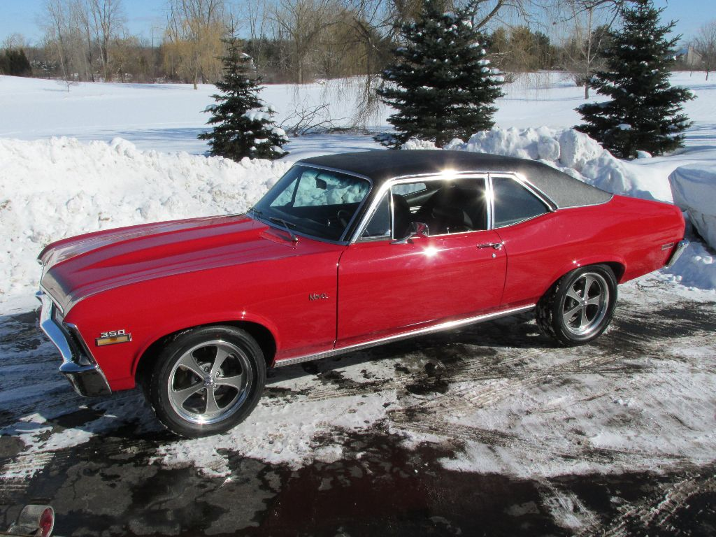 Sold 1972 Chevrolet Nova Ss 171 Ross Customs