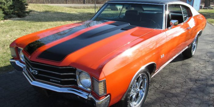 SOLD - 1972 Chevrolet Chevelle SS - $25,500