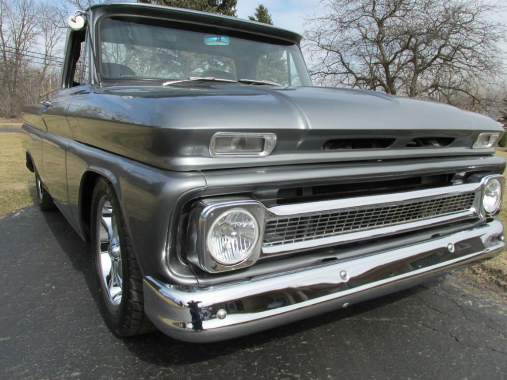 Truck 1965 chevrolet truck : SOLD – 1965 Chevrolet C10 Shortbox Pickup – $17500 Â« Ross Customs