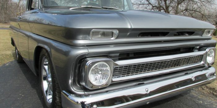 SOLD - 1965 Chevrolet C10 Shortbox Pickup - $17500