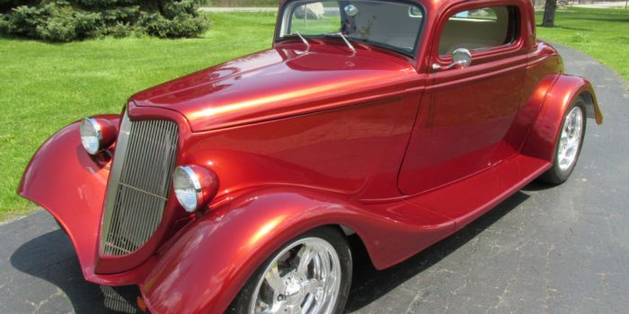 SOLD - 1934 Ford 3-Window Coupe Street Rod - $49,500