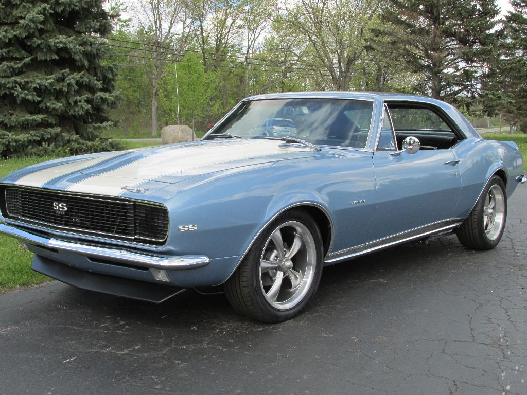sold 1967 chevrolet camaro rs ss 28 900 ross customs. Black Bedroom Furniture Sets. Home Design Ideas