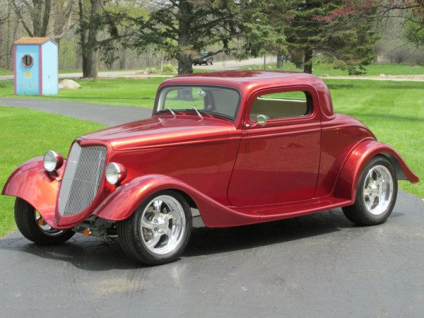 Sold 1934 ford 3 window coupe street rod 49 500 for 1934 ford 3 window coupe pictures