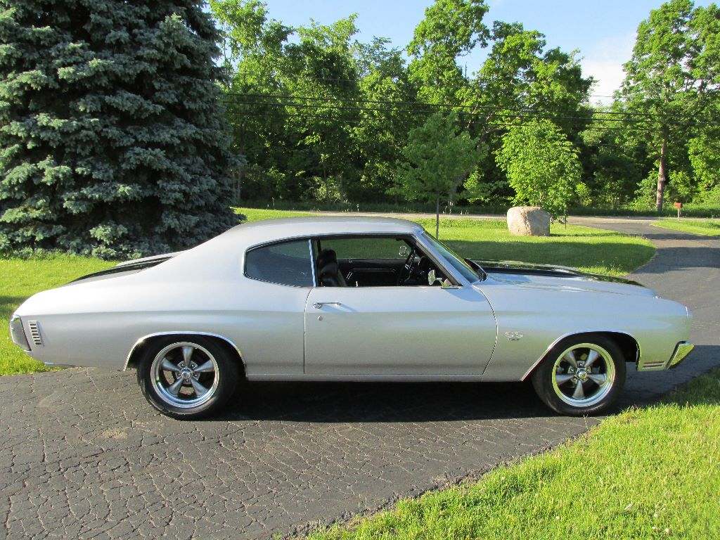 Sold 1970 Chevrolet Chevelle Ss 396 4 Speed 34 500