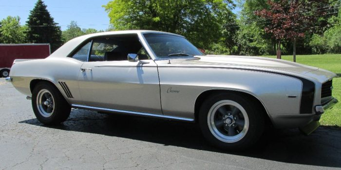 SOLD - 1969 Chevrolet Camaro SS 350 - $34,500