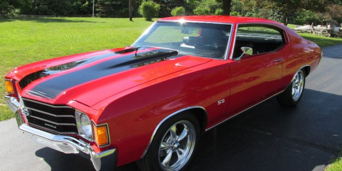 SOLD - 1972 Chevrolet Chevelle SS 454 - $24,500