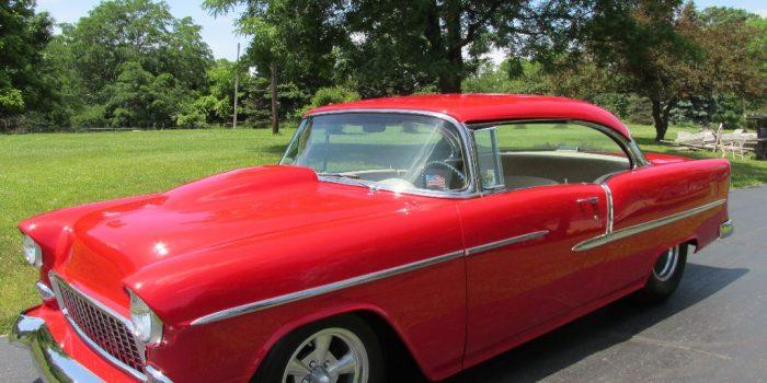 SOLD - 1955 Chevy BelAir Hardtop Big Block 427 - $35,000