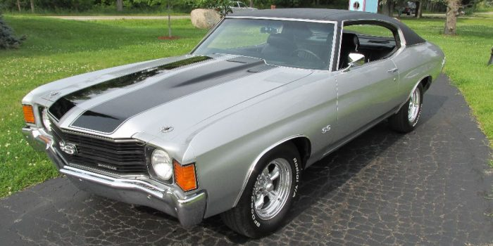 SOLD - 1972 Chevrolet Chevelle SS 350 - $25,000