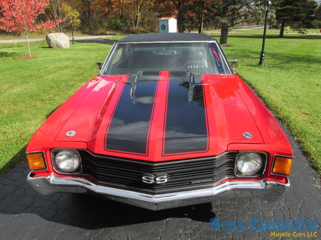 New Chevelle Ss >> SOLD – 1972 Chevrolet Chevelle SS 454 « Ross Customs