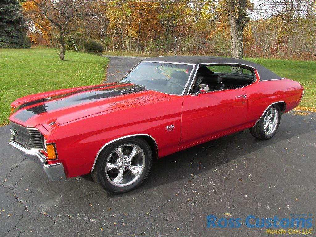 Sold 1972 Chevrolet Chevelle Ss 454 171 Ross Customs