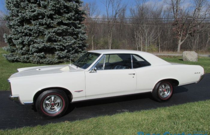 - 1966 Pontiac GTO - $36,500