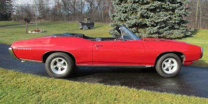 SOLD - 1968 Pontiac LeMans Convertible