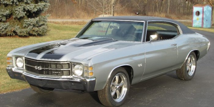 SOLD - 1971 Chevelle SS 350