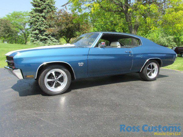 SOLD – 1970 Chevelle SS 454 – 4 speed « Ross Customs