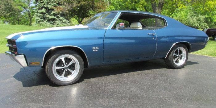 SOLD - 1970 Chevelle SS 454 - 4 speed