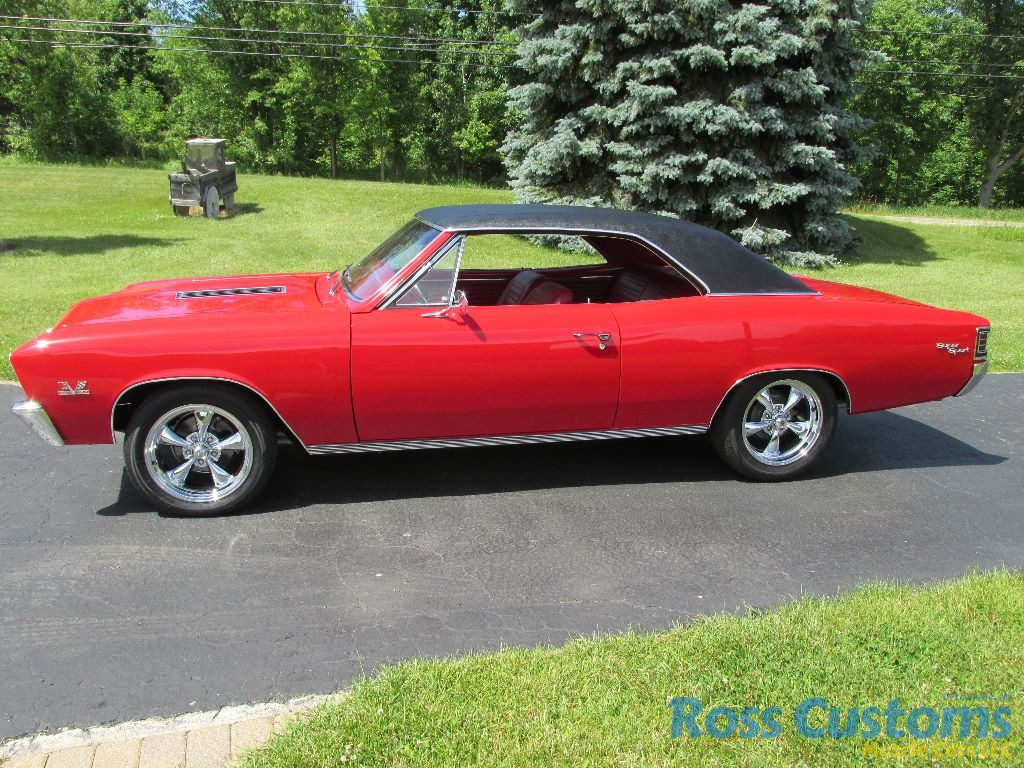 SOLD – 1967 Chevelle SS 427 4 Speed « Ross Customs