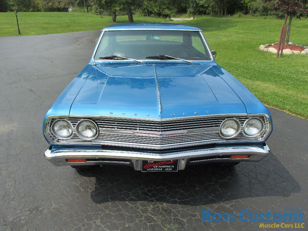 SOLD – 1965 Chevelle Malibu SS 396 – 4 Speed « Ross Customs