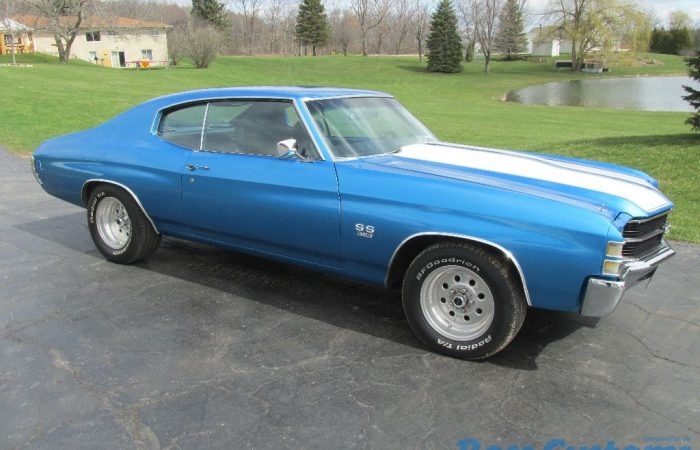 SOLD SOLD - 1971 Chevrolet Chevelle SS 350 - $28,900