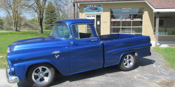 SOLD SOLD - 1958 GMC Fleetside Pickup