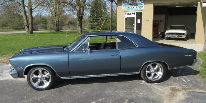 SOLD SOLD- 1966 Chevrolet Chevelle SS Restomod