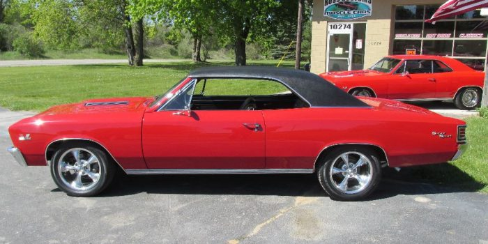 SOLD SOLD - 1967 Chevrolet Chevelle SS - 4 speed