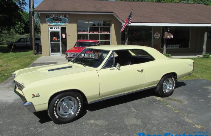 SOLD SOLD - 1967 Chevrolet Chevelle SS 396 - 4 speed - 138 VIN -
