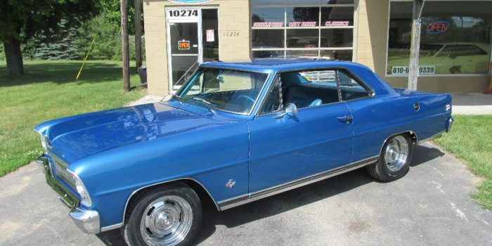 SOLD SOLD  - 1966 Chevy II Nova SS - 4 speed - 118 VIN