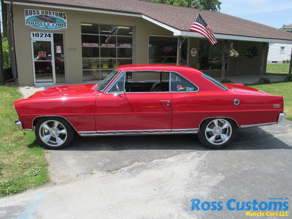 Sold 1966 Chevy Ii Nova Ss Ross Customs Alternator Wiring Diagram We