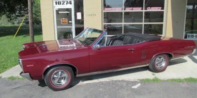 FOR SALE - 1967 Pontiac Lemans GTO convertible - $28,900