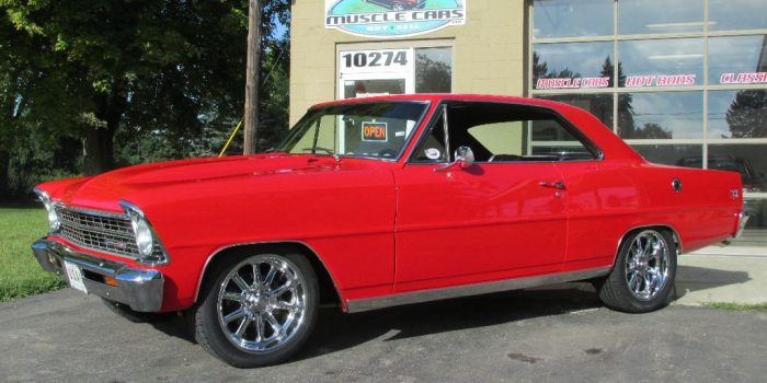 SOLD SOLD - 1967 Chevy II Nova PRO Touring SS
