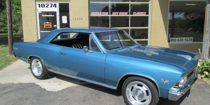 SOLD - 1966 Chevrolet Chevelle SS 396 - 4 speed