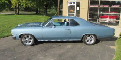 JUST ARRIVED - 1966 Chevelle Resto-mod