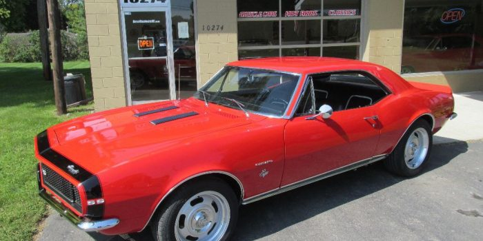 SOLD SOLD - 1967 Chevrolet Camaro RS/SS - 4 speed