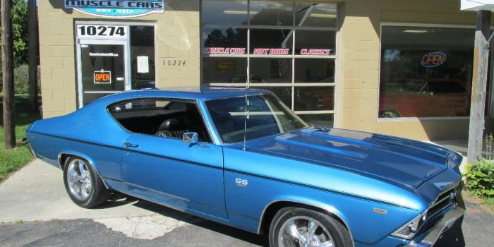 SOLD SOLD - 1969 Chevrolet Chevelle SS 396 - 4 speed
