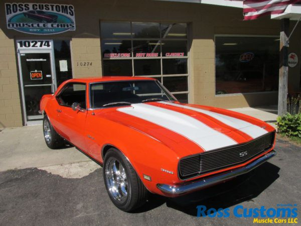 SOLD SOLD – 1968 Camaro RS 396 – 4 speed « Ross Customs