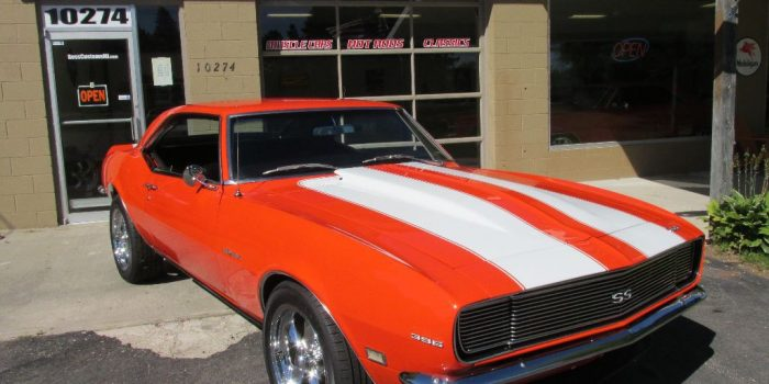SOLD SOLD - 1968 Camaro RS 396 - 4 speed