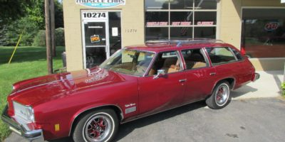 FOR SALE - 1975 Oldsmobile Cutlass Vista Cruiser Station Wagon - $10,500